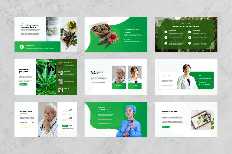 Cannabis Presentation PowerPoint Template