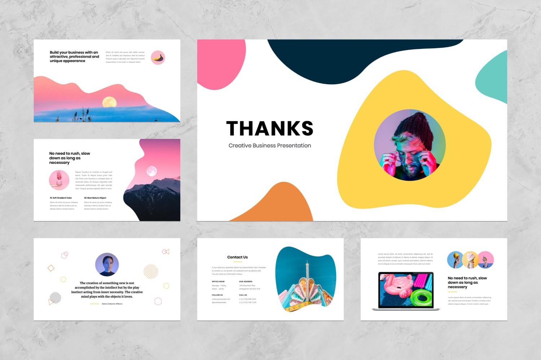 Creative Business Presentation PowerPoint Template