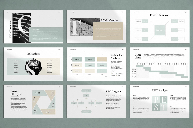 Agile Project Management Presentation PowerPoint Template
