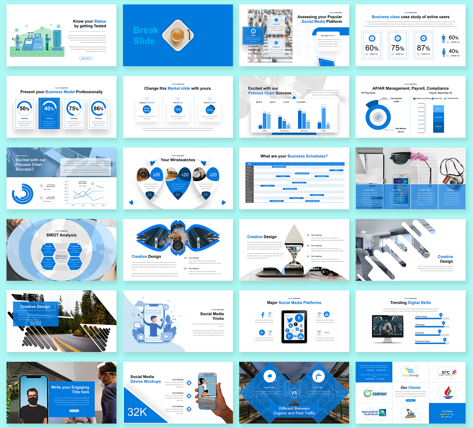 Kings Business - PowerPoint Template