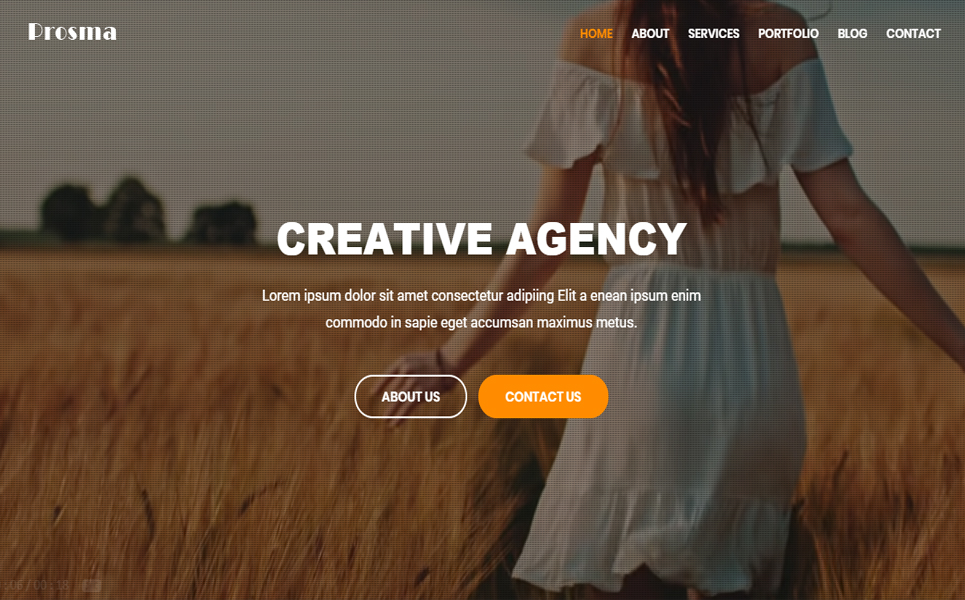 Prosma - Creative Multipurpose HTML Landing Page Template
