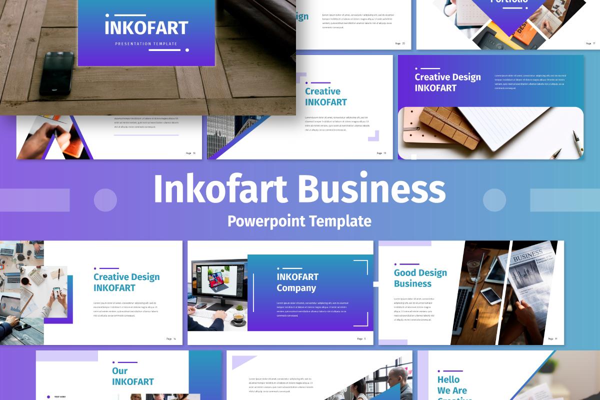 Inkofert - Business PowerPoint Template