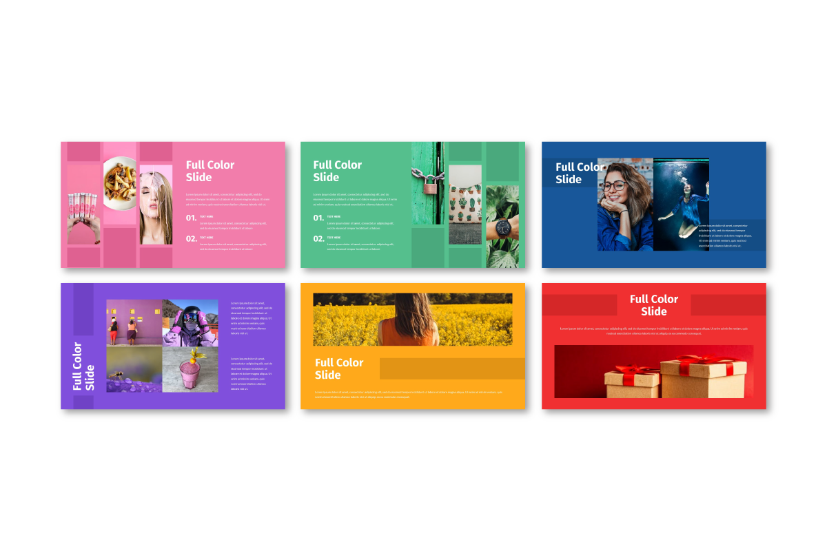 Full Color - Multipurpose PowerPoint Template