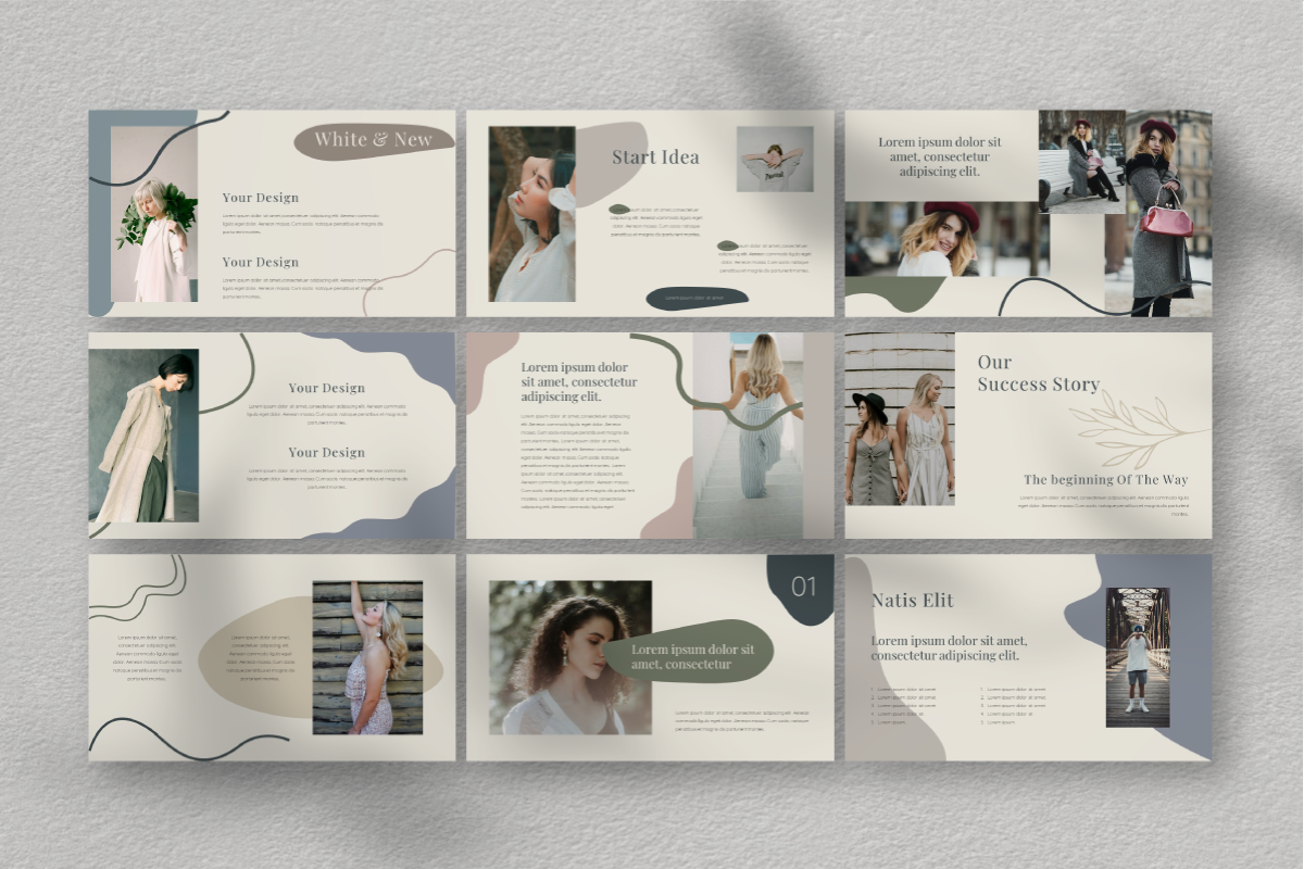 Natisi PowerPoint Template