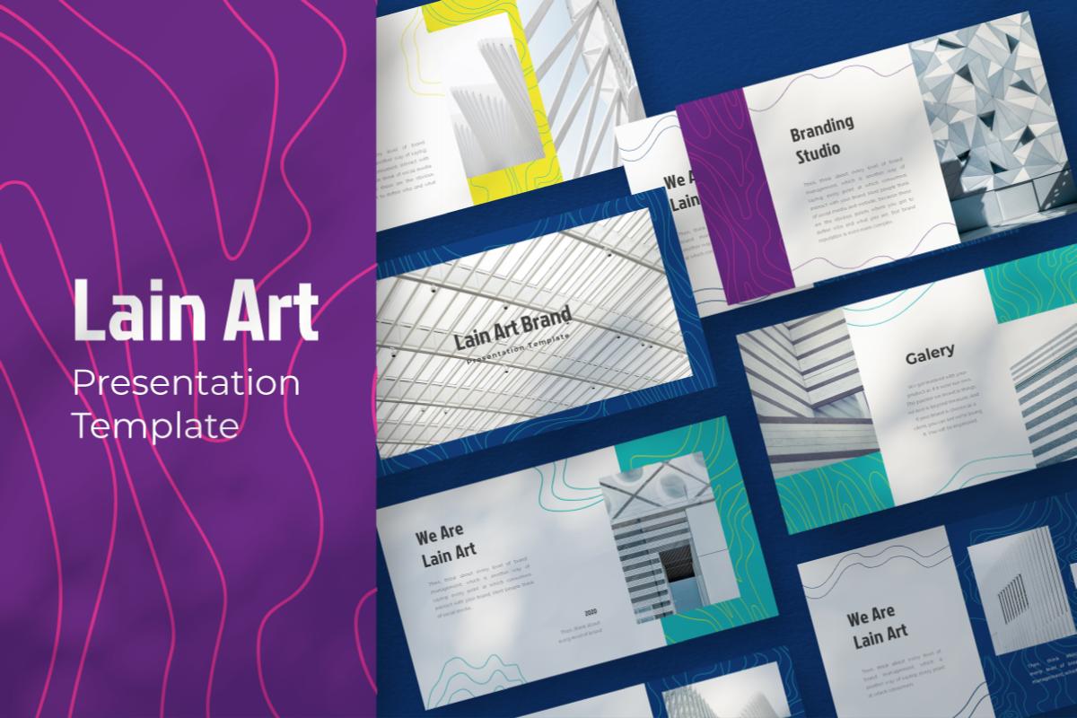 Lain Art Brand PowerPoint Template