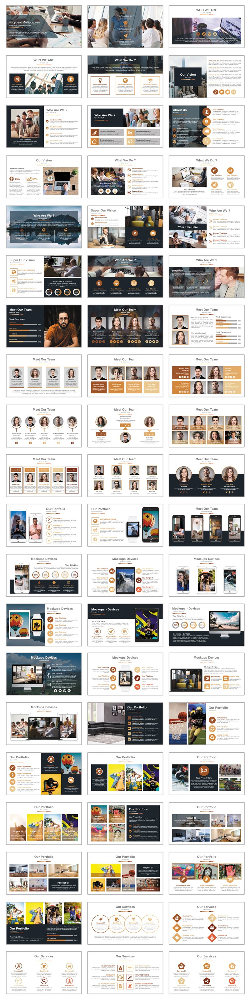 Top Pro Business PowerPoint Template