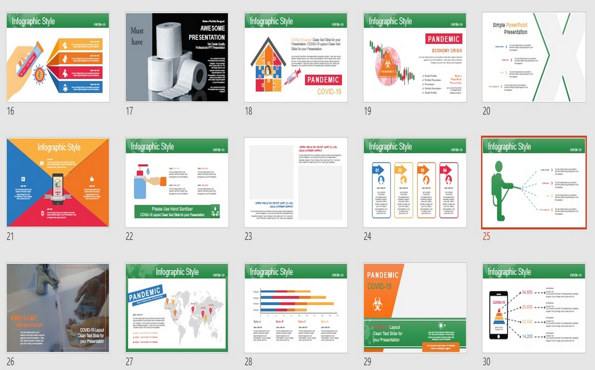 COVID_!9_PRESENTATION PowerPoint Template
