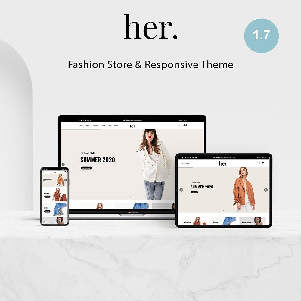 Her Store - Fashion PrestaShop Theme