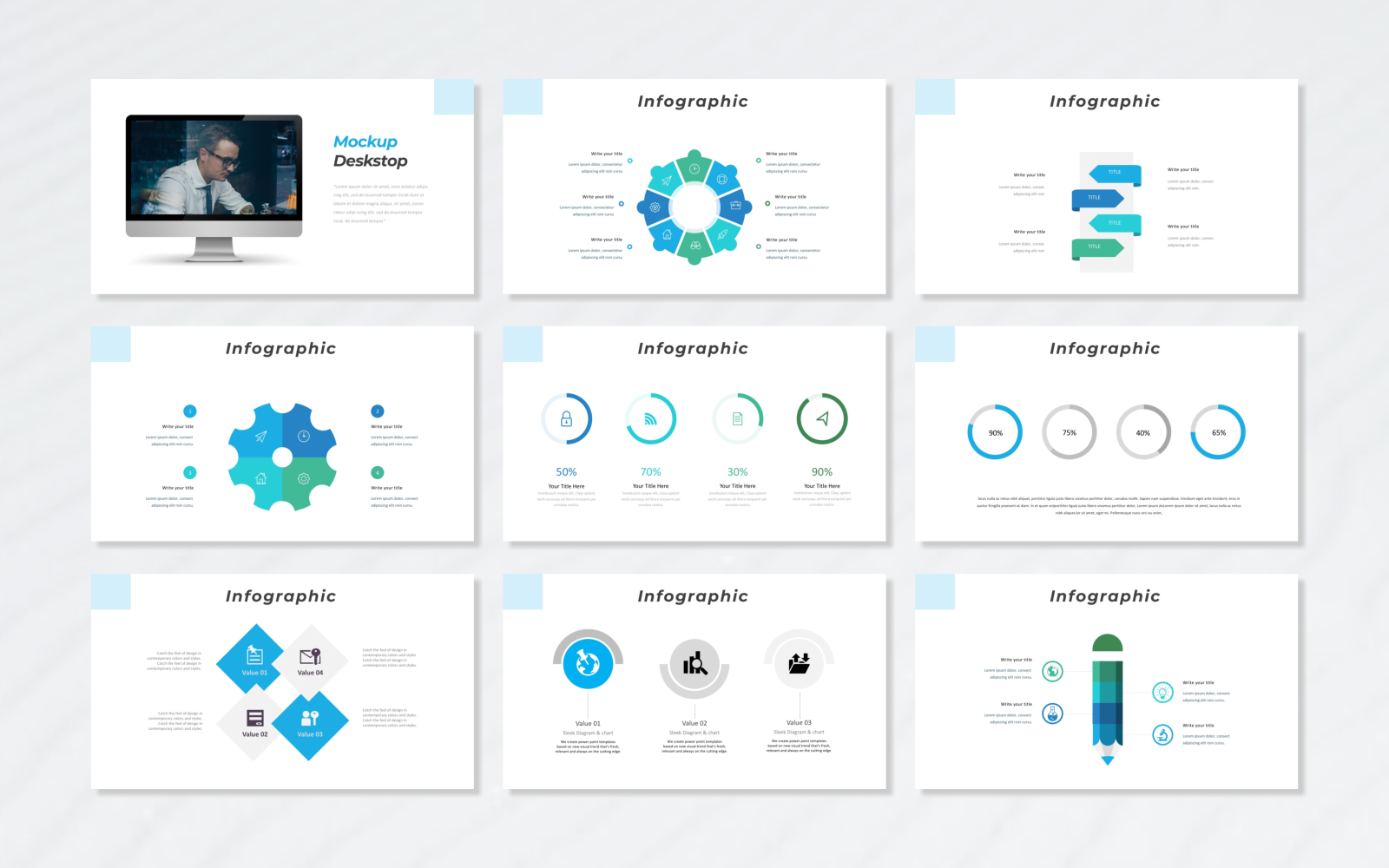 Access - Creative PowerPoint Template