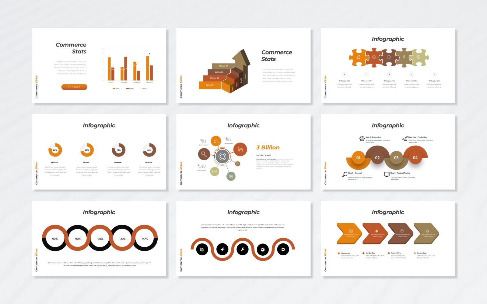 Commerce PowerPoint Template