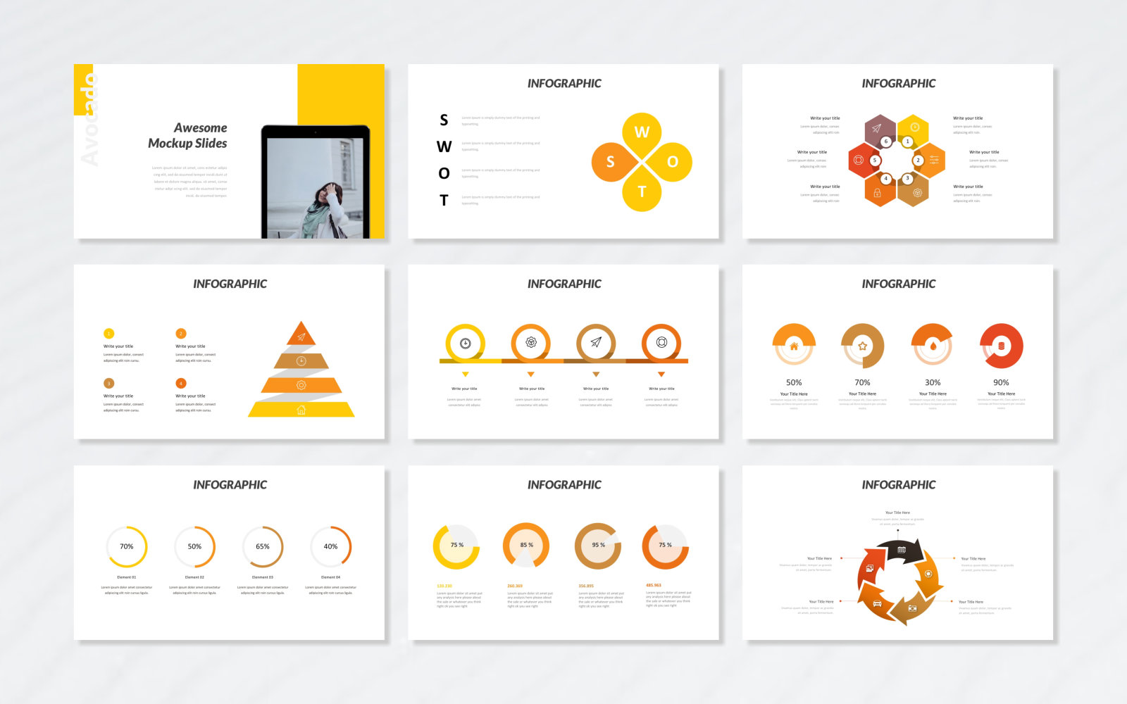 Avocado - Fashion PowerPoint Template