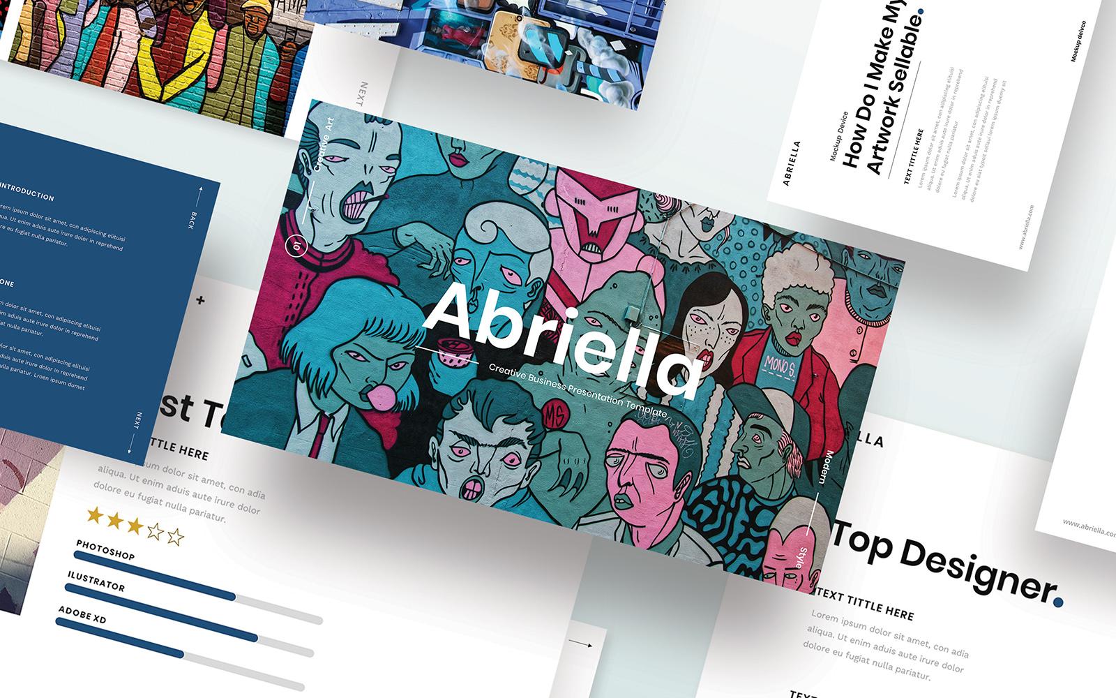 Abriella – Creative Business PowerPoint Template