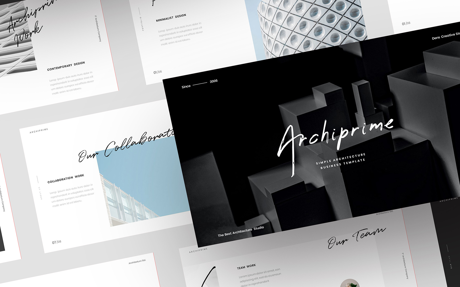 Archiprime – Simple Business PowerPoint Template