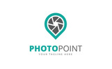 Photo Point Logo Logo Template