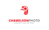Chameleon Photo Logo Template Big Screenshot