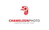Chameleon Photo Logo Template