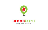 Blood Point Logo Template