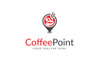Coffee Point Logo Template Big Screenshot