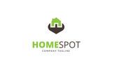 Home Spot Logo Template