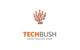 Tech Bush - Logo Template