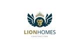 Lion Homes Logo Template