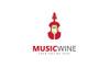 Music Wine Logo Template Big Screenshot