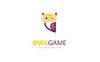 Owl Game Logo Template Big Screenshot