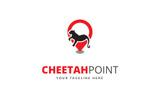 Cheetah Point Logo Template