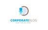 Corporate Blog Logo Template Big Screenshot