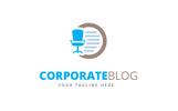 Corporate Blog Logo Template