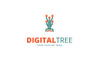 Digital Tree Logo Template Big Screenshot