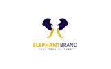 Elephant Brand Logo Template
