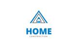 Home Construction Logo Template