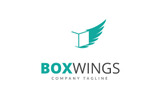 Box Wings - Logo Template