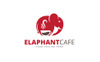 Elephant Cafe Logo Template Big Screenshot