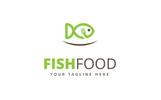 Fish Food Logo Template