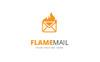 Flame Mail Logo Template Big Screenshot