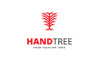 Hand Tree Logo Template Big Screenshot