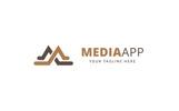 Media App Logo Template