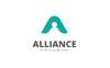 Alliance A Letter Logo Template Big Screenshot