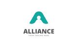 Alliance A Letter Logo Template