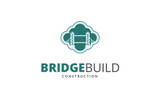 Bridge Build Logo Template