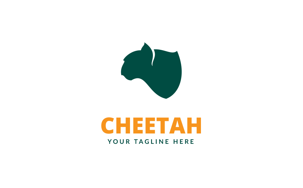 Cheetah Logo Template #68994