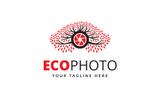 Eco Photo Logo Template