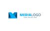 Media Letter Logo Template Big Screenshot
