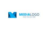 Media Letter Logo Template