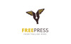 Free Press Logo Template Big Screenshot