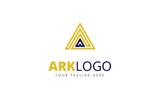 Ark A Letter Logo Template