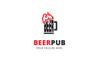 Beer Pub Logo Template Big Screenshot
