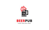 Beer Pub Logo Template
